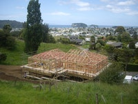 Sustainable pole house, Whangamata